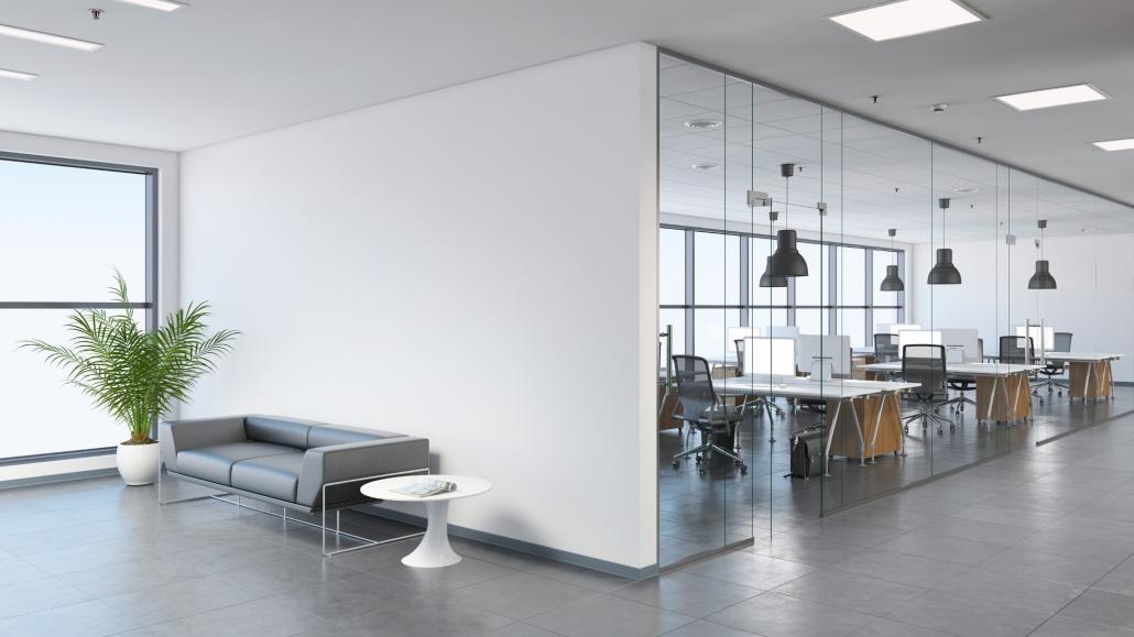Optimale Aufteilung von Büroflächen