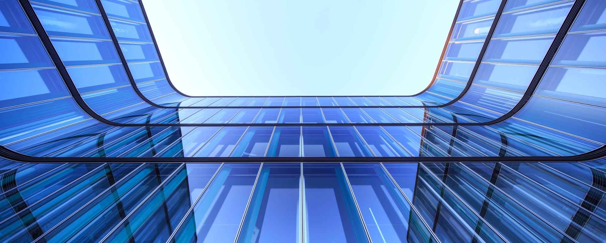 Fensterfassade Bürogebäude